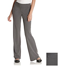 Sequin Hearts® Junior's Gray Double Extended-Tab Pants