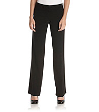 Sequin Hearts® Juniors' Black Extended-Button Dress Pants