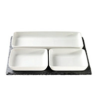 Luigi Bormioli Slate 4-pc. Serving Set