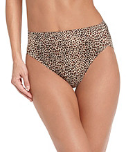 Warner's® No Wedgies, No Worries Hi-Cut Briefs - Animal