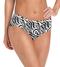 Warner's No Wedgies No Worries Hipster - Zebra