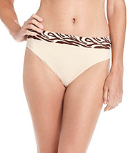 Warner's No Pinching, No Problems Hi-Cut Briefs - Beige