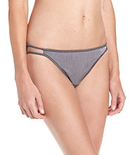 Vanity Fair® Body Shine Illumination® String Bikini - Steele Violet