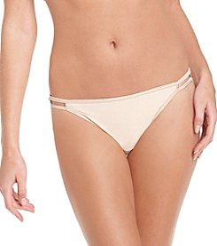 Vanity Fair® Body Shine Illumination® String Bikini - Rose Beige