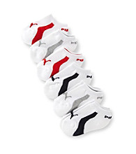 PUMA® Boys' 6-pk. White Running Socks