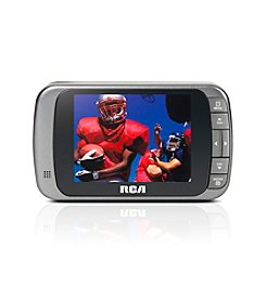 "RCA® ATSC 4A Battery-Powered 3.5"" Pocket Digital Television"