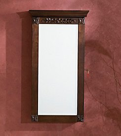 Southern Enterprises Vivienne Wall-Mounted Jewelry Armoire