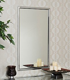 Southern Enterprises Roxburgh Chrome Wall Mirror