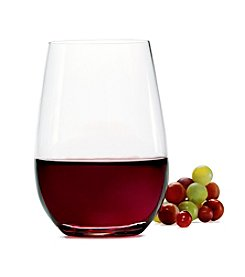Mikasa® Barmaster's Set of 4 Stemless Wine Glasses
