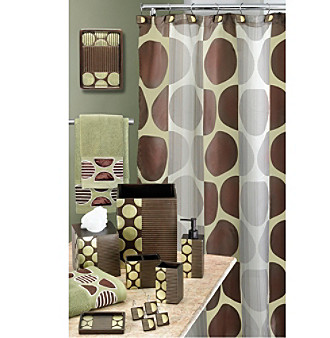 PB Home™ Metro Bath Collection - Brown/Green