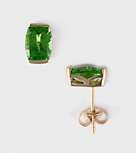 Effy® 14K Yellow Gold Peridot Earrings