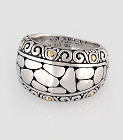 Effy® Balissima 18K Yellow Gold/Silver Ring