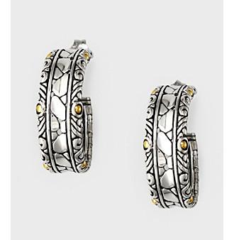 Effy® Balissima 18K Yellow Gold/Silver Earrings