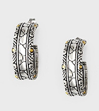 Effy® Balissima 18K Yellow Gold/Silver Earrings