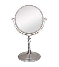 Zadro Two Sided Vanity Swivel Mirror with 5x Magnification