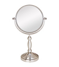 Zadro Two Sided Vanity Swivel Mirror with 10x Magnification