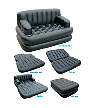 Pure Comfort 5-in-1 Inflatable Sofa/Air Mattress