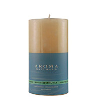 Fragrance Net Aroma Naturals Meditation Aromatherapy Pillar Candle