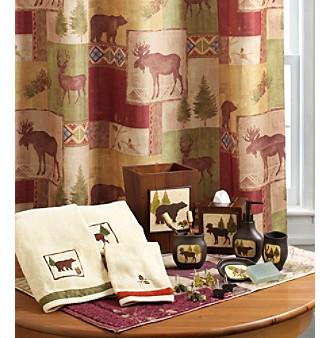 Bacova® Mountain Lodge Bath Collection