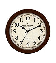 FirsTime Silent Slim Wall Clock