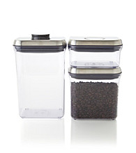 OXO® SteeL POP Stackable Containers 3-pc. Set