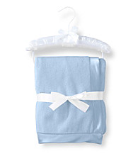 Cuddle Bear® Baby Boys' Cloudy Blue Plush Blanket
