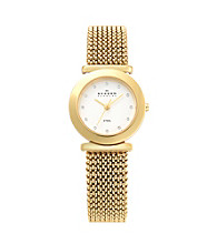 Skagen Denmark Stretch Mesh Watch - Gold