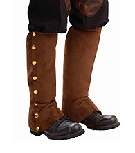 Steampunk Male Adult Brown Spats