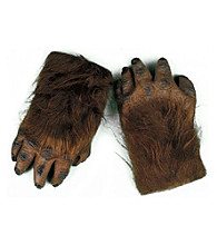 Werewolf Brown Hairy Adult Hands