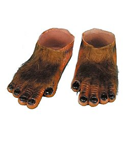 Werewolf Brown Hairy Adult Feet