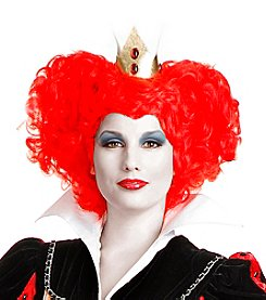 Red Queen Synthetic Adult Wig
