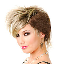 The Punk Rocker Synthetic Adult Wig