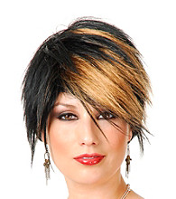 The Scenester Synthetic Adult Wig