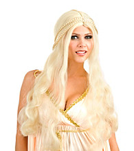 Blonde Flower Child Synthetic Adult Wig