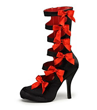 Burlesque Satin Adult Boots
