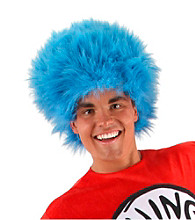 Dr. Seuss Thing 1 and 2 Adult Wig