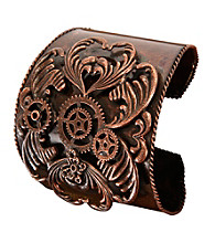Steampunk Antique Copper Adult Bracelet