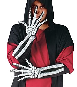 Skeleton and Wrist Bone Adult Gloves