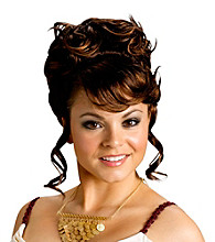 Greek Goddess Brunette Adult Wig