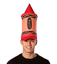 Crayola Red Crayon Adult Hat