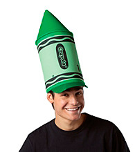 Crayola Green Crayon Adult Hat