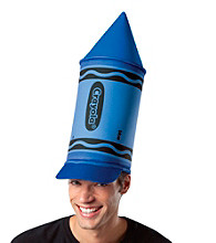 Crayola Blue Crayon Adult Hat