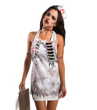 Zombie Nurse Adult Apron