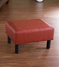 Holly & Martin™ Gerard Red Foot Stool
