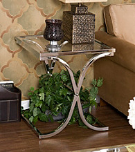 Holly & Martin™ Roxburgh Chrome End Table