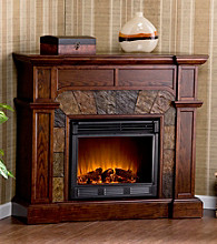 Holly & Martin™ Cypress Espresso Convertible Electric Fireplace