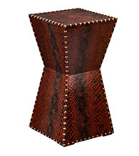 Holly & Martin™ Rochester Faux Leather Accent Table