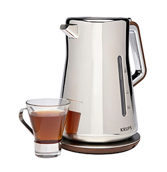 Krups® Silver Art Electric Water Kettle