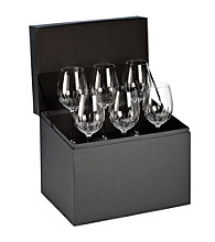 Waterford® Lismore Essence Set of 5 Goblets + 1 FREE Goblet