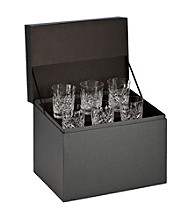 Waterford® Set of 6 Lismore Double Old Fashioned Glasses
